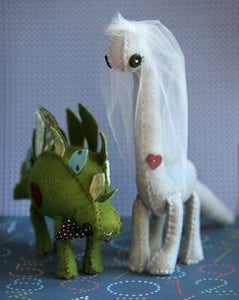 Image of Dinosaur Cake Toppers