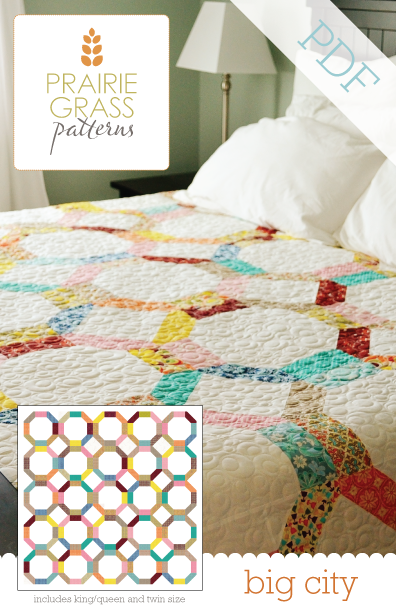 Image of Big City: PDF Quilting Pattern #113