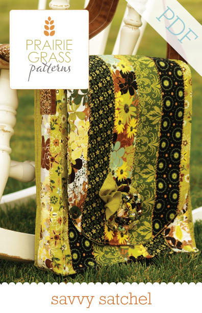 Image of Savvy Satchel: PDF Sewing Pattern #112