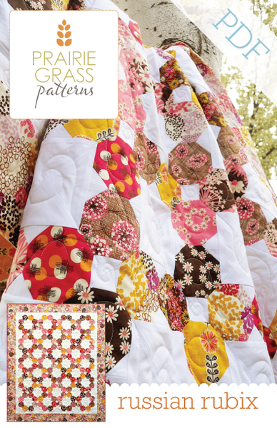 Image of Russian Rubix: PDF Quilting Pattern #111