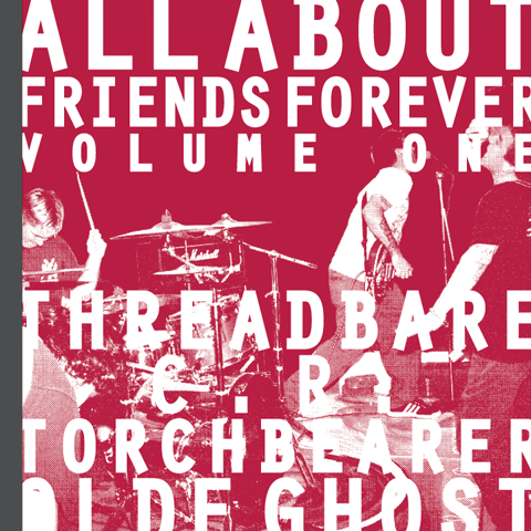 "Image of ALL ABOUT FRIENDS FOREVER VOLUME ONE 7""/zine"