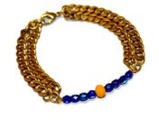 Image of 'Sharmeen' Beads and Chain Bracelet