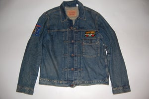 Image of Iron Maiden Denim Jacket