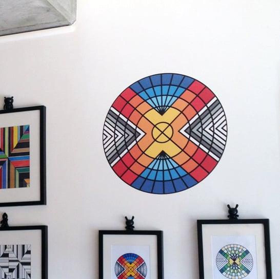 Image of x superhero 2' wall adhesive