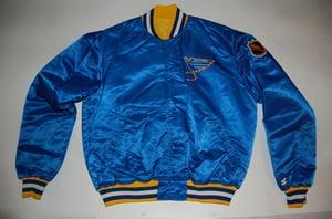 Image of St. Louis Blues Vintage Starter Jacket