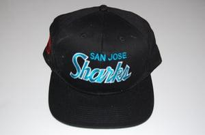 Image of San Jose Sharks Vintage Snapback