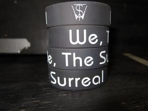 "Image of We, The Surreal Logo 3/4"" wristband"