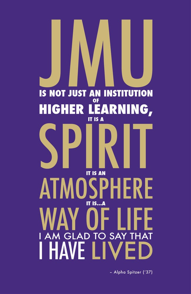 "Image of ""JMU: A Way of Life"" Poster"