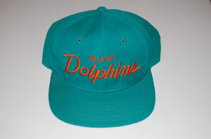 Image of Miami Dolphins Vintage Snapback - Solid