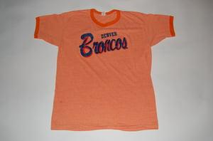 Image of Denver Broncos Vintage T-Shirt