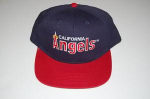 Image of California Angels OG Blue Vintage Snapback