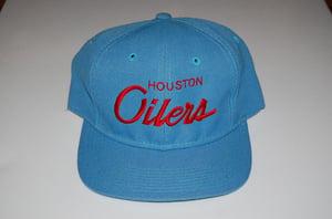 Image of Houston Oilers Vintage Snapback - Solid