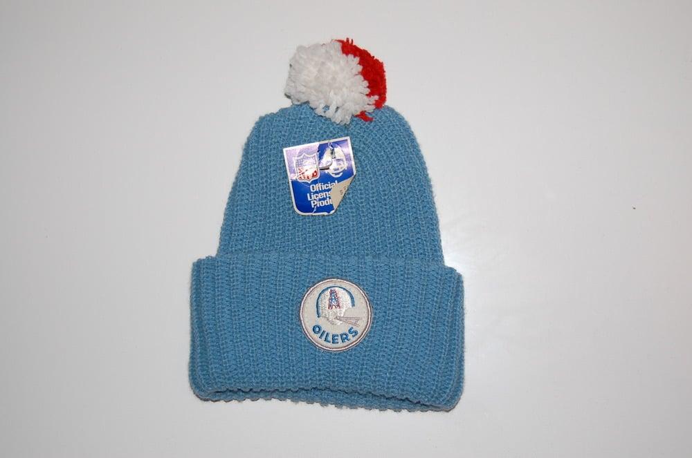 Otto s Bodega — Houston Oilers Vintage Winter Hat - Solid af783a958f5