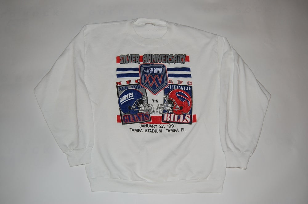 Image of NY Giants & Buffalo Bills Superbowl XXV Sweatshirt