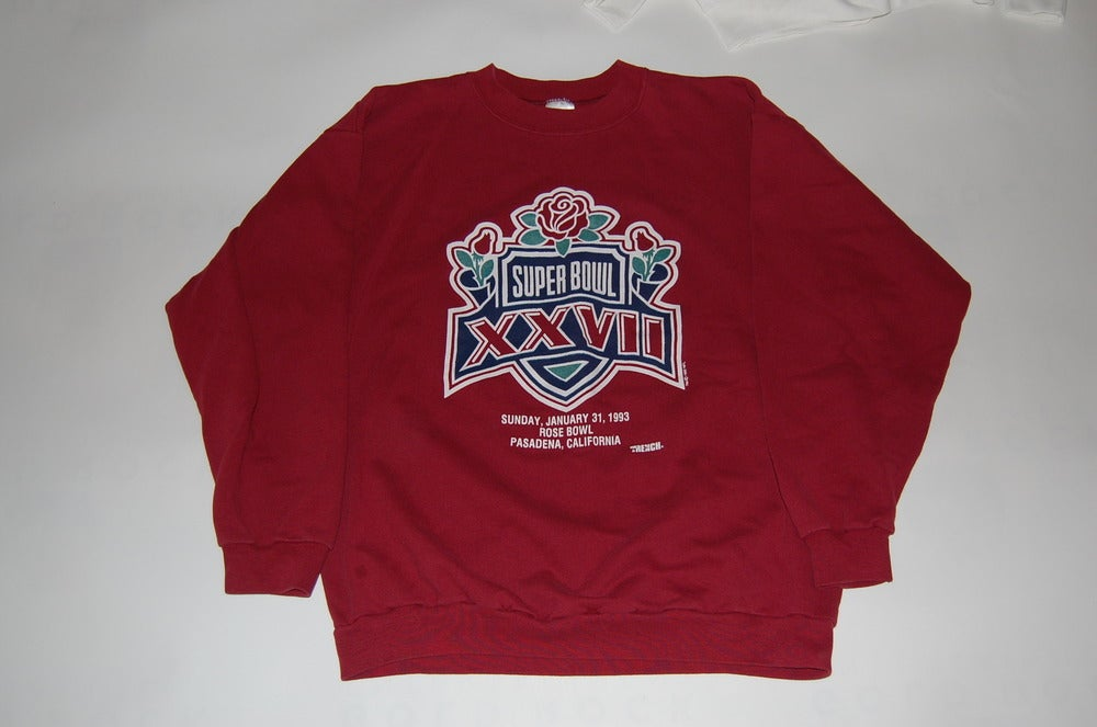 Image of Buffalo Bills & Dallas Cowboys Superbowl Sweatshirt