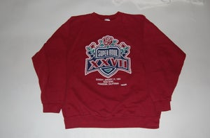 Image of Buffalo Bills & Dallas Cowboys Superbowl Sweatshirt