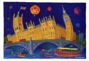 Image of A1 London Signed Print - 'Houses of Parliament'
