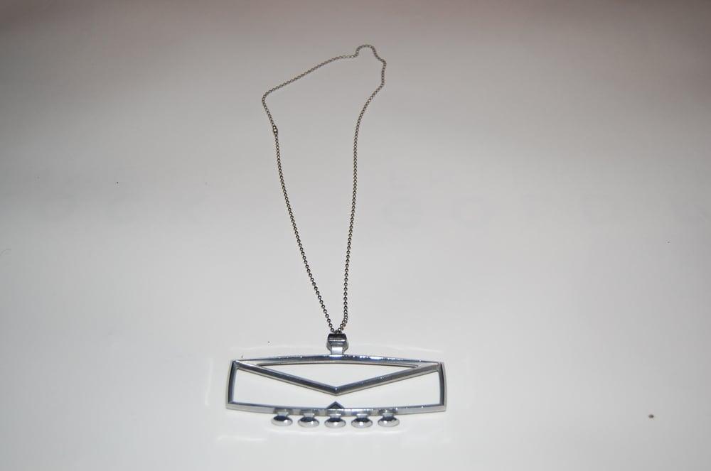 Image of Vintage Hood Ornament Necklace
