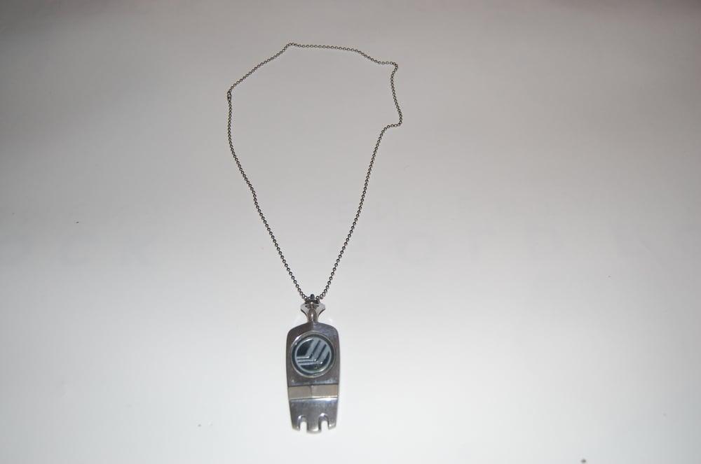 Image of Vintage Hood Emblem Necklace