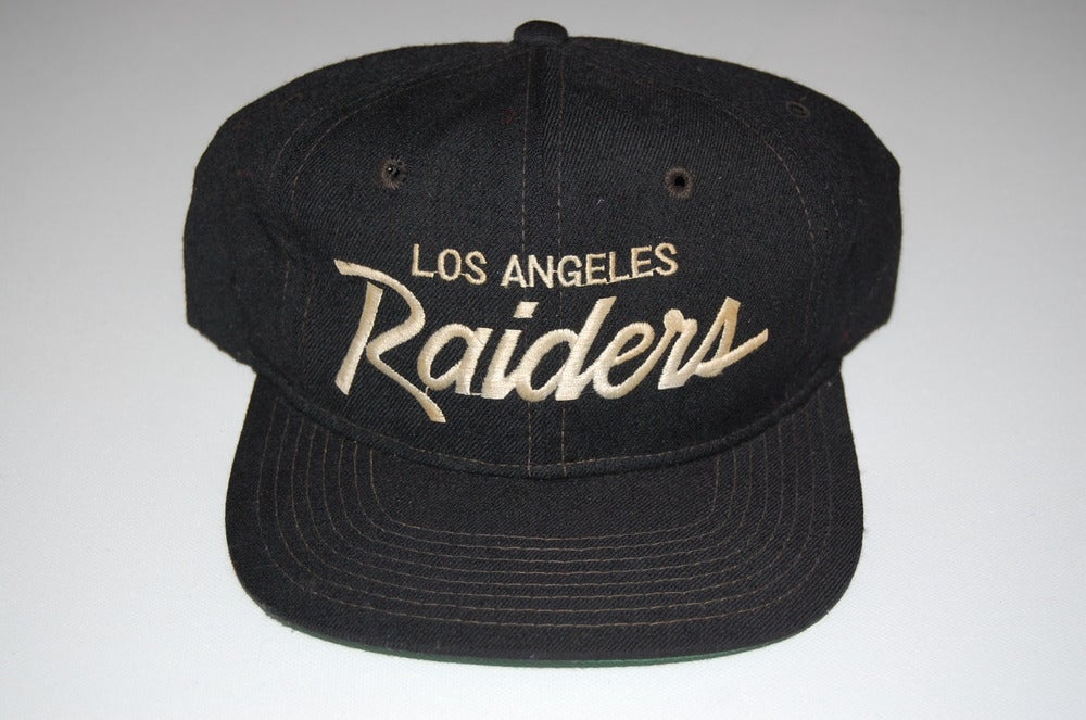 Image of Los Angeles Raiders Vintage Snapback - Solid