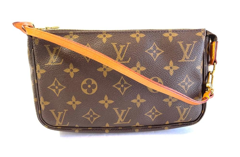 Image of Louis Vuitton Monogram Pochette 1039-2