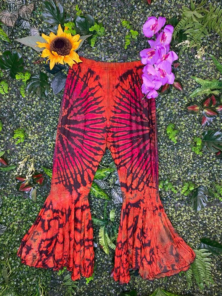 Image of Tie Dye Flares - Oslo
