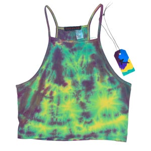 """Image of RZN by RB """"Freedom Tie"""" authentic tie dye tank"""