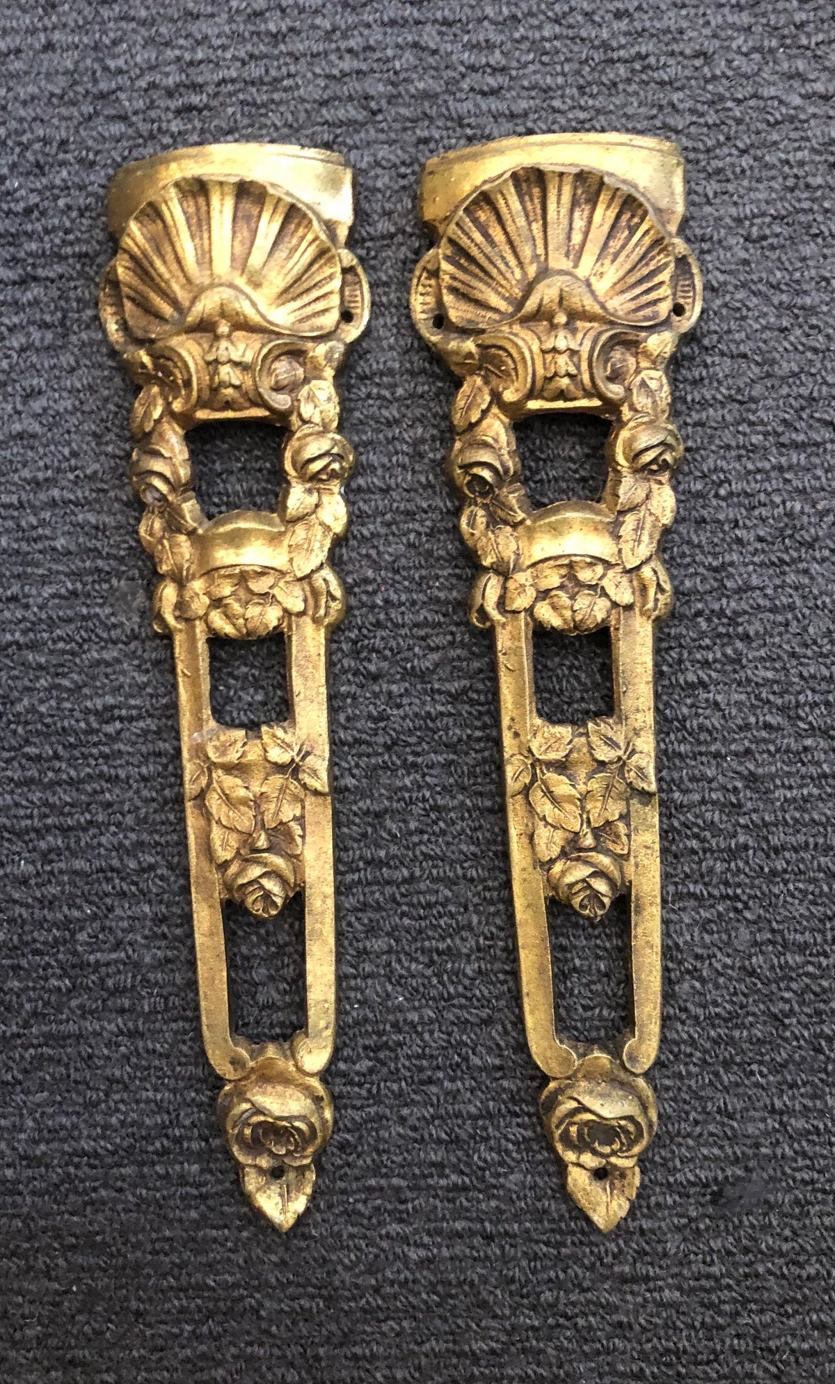 Image of French Brass Furniture Mounts