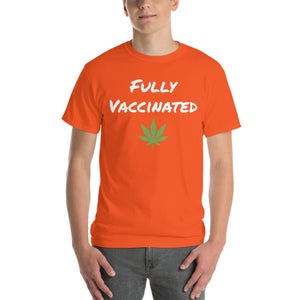 Image of Fully Vaccinated Leaf T-Shirt