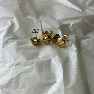 22ct Gold Vermeil Mini Uisce Stud