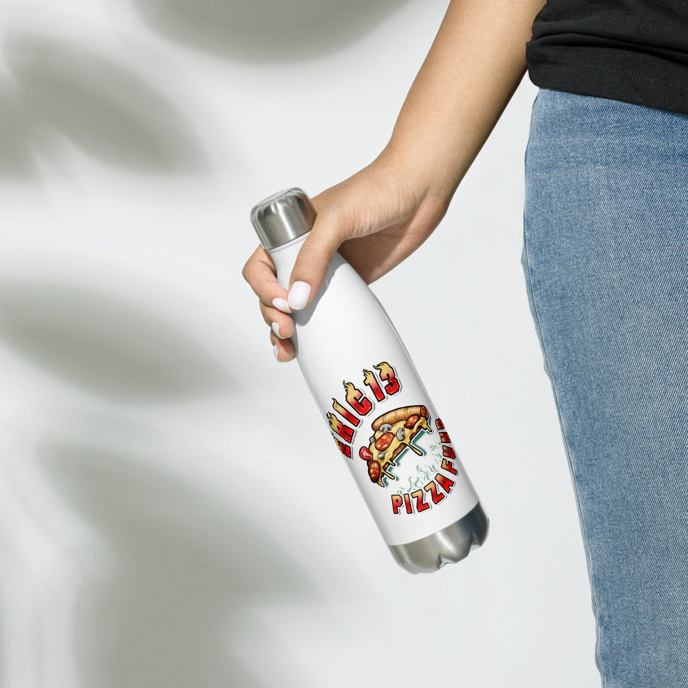 Image of ERIC13 PIZZA FUND Water Bottle