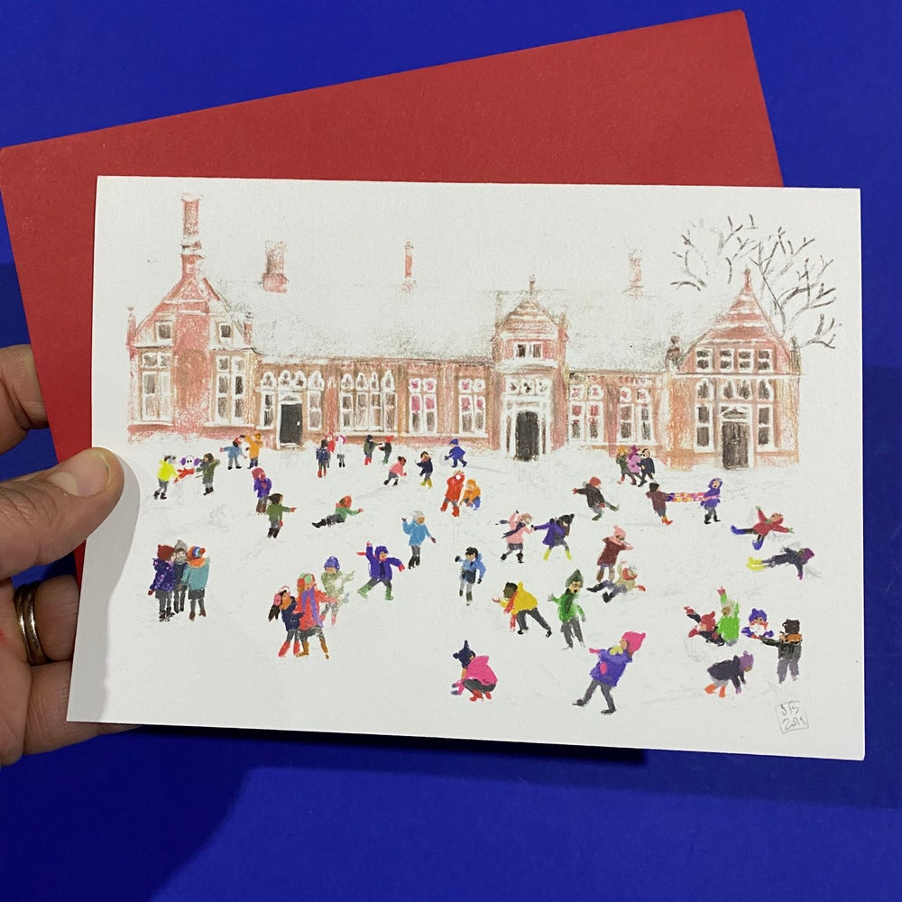 Image of 'Snow Day' Luxury Greetings Card