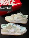 Nike Dunk Low Scrap / Sail-White Sea-Glass Seafoam
