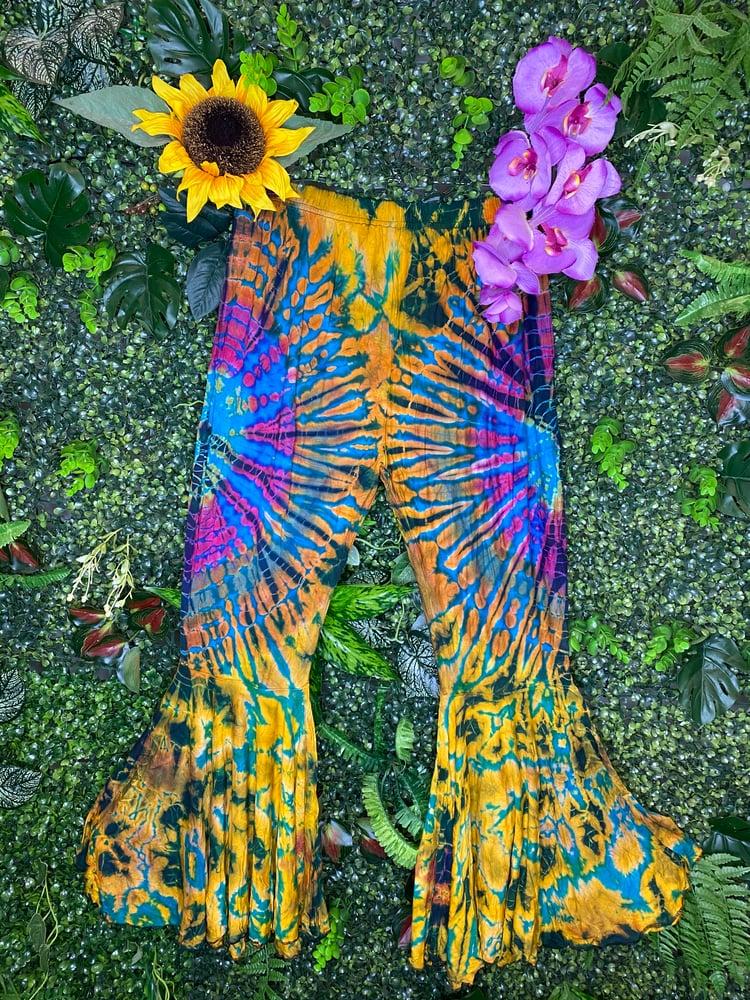 Image of Tie Dye Flares - Antigua