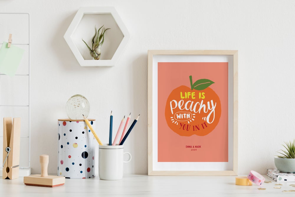 Image of Life is Peachy