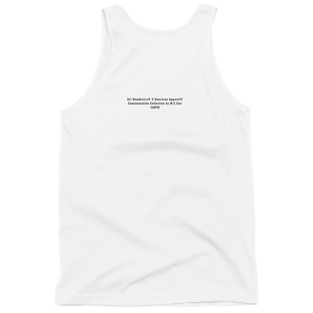 Image of Art Wanderers® X American Apparel® - Dead Fish - Tank Top - White