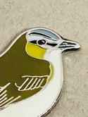 Red-eyed Vireo - September 2021 - UK Birding - Enamel Pin Badge