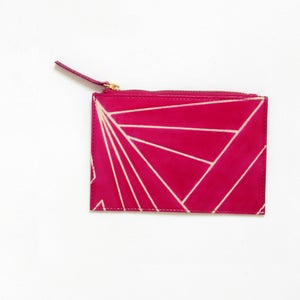 Image of DAZZLE PURSE pink