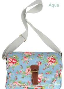 Image of Small Oil Cloth Saddle Bag