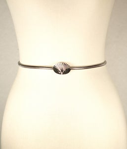 Image of Silver Chain Waist belt