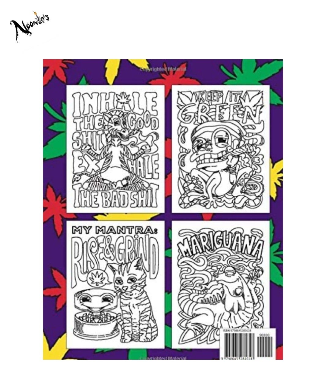 Image of The coloring book for stoners