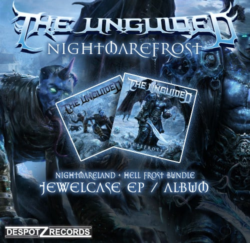 Image of The Unguided - Nightmarefrost  [BUNDLECD]