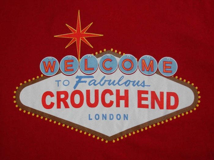 Image of Welcome to Fabulous Crouch End (Red)