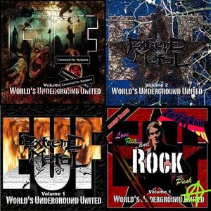"Image of Sampler Bundle - 4x ""European Underground XXX Front"" - CD"