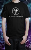"Image of The YTriple Corporation ""We win your wars"" · Black Shirt Short Sleeve"