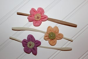 Image of Ballerina Flower Headbands