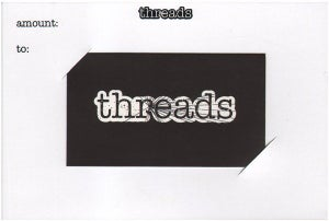Image of Threads Gift Card - $75