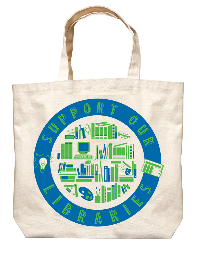 Image of Library Chic: Universal Library Icons Tote
