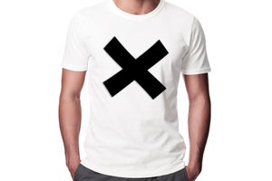 "Image of ""X"" Play-Shirt Basic T-shirt (White)"