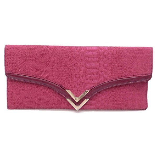 Image of Pink and Gold Clutch